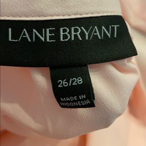 Lane Bryant Tops - Lane Bryant Pink Blouse Shirt 26/28W
